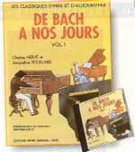 partitions de piano de bach à nos jours