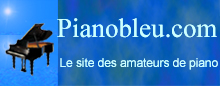 Piano bleu le site des amateurs de piano